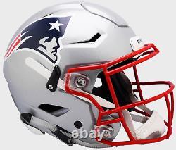 New England Patriots NFL Riddell Speedflex Casque De Football Authentique Grandeur Pleine