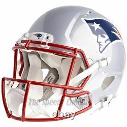 New England Patriots Riddell Speed Casque De Football NFL Authentique