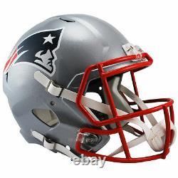 New England Patriots Riddell Speed NFL Full Size Replica Casque De Football