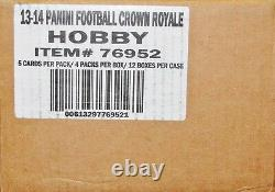 Panini Crown Royale Football Hobby 2013 Affaire 12-box