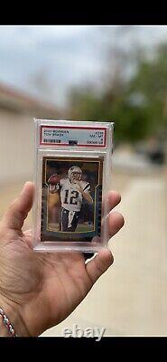 Tom Brady 2000 Bowman #236 Rc Rookie Card New England Patriots Psa 8 Nm-mt