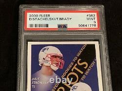 Tom Brady 2000 Fleer #352 Rookie Card New Psa 9 Mint Rc New England Patriots