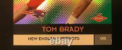 Tom Brady 2000 Pacific Vanguard Rc Rookie Card #139 Série 082/762