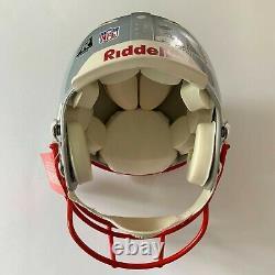 Tom Brady Autographié Patriotes Full Sized NFL Football Casque Tristar & Jsa Coa