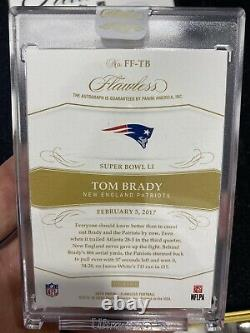 Tom Brady Flawless Auto True 1/1 One Of One Super Bowl Auto Patriots! Impeccable