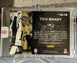 Tom Brady Sur Card Auto Game-worn Material Sizeable Signatures 5/10 Sealed Panini
