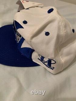 Vintage 90s New England Patriots Logo Athletic Sharktooth Snapback Hat Cap NFL