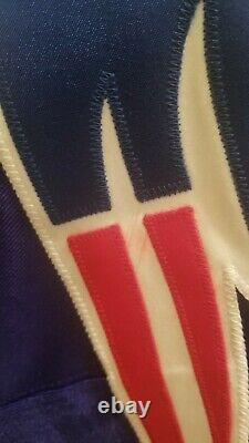 Vtg 90s NFL Starter Pro Line New England Patriots Adam Vinatieri Jersey Sewn 4